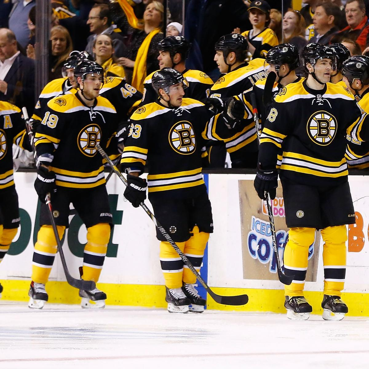 Boston Bruins' Keys To Getting Home Ice For First Round Of
