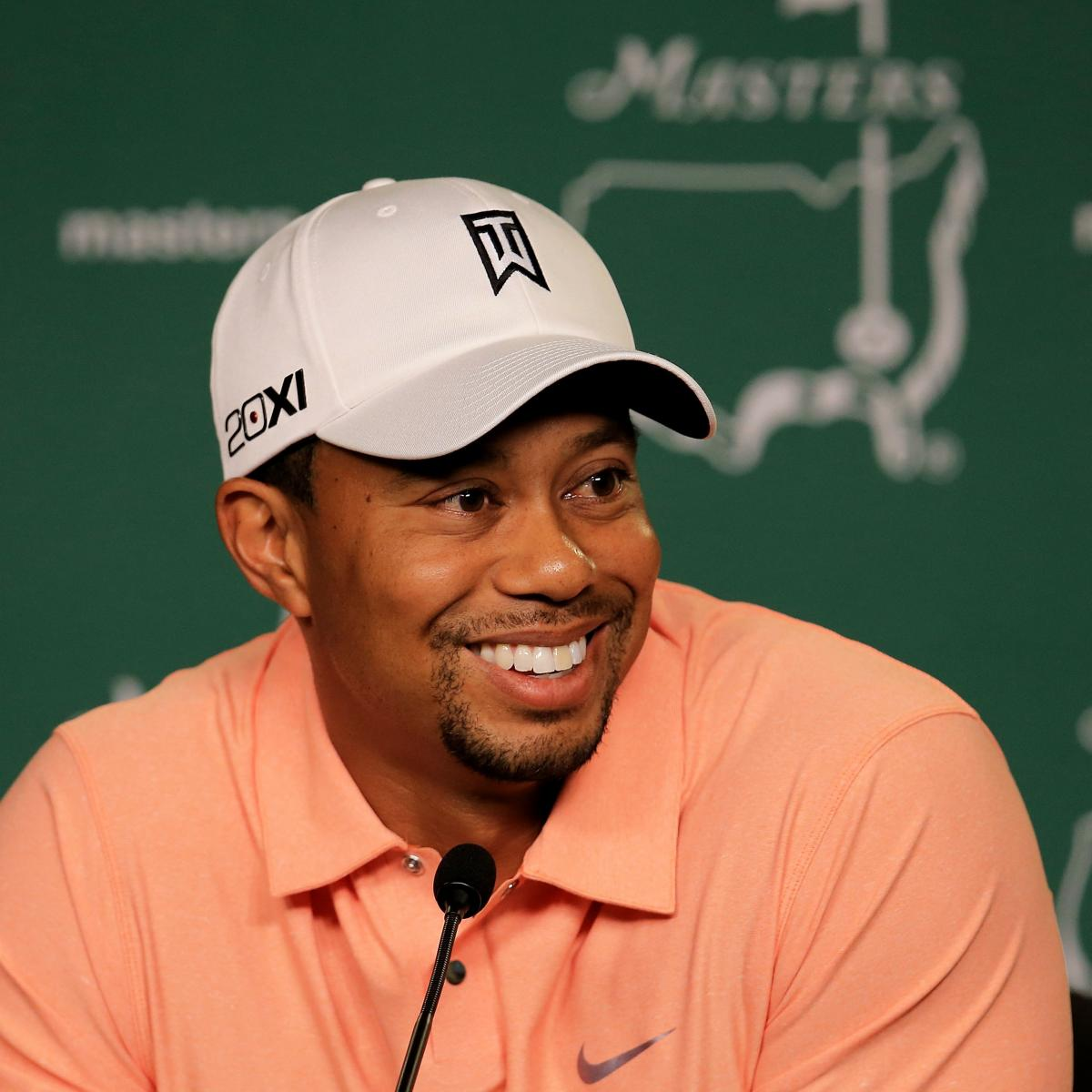 Modern Shoe Logo Collection: 2013 Masters: What Tiger Woods Will Be Wearing