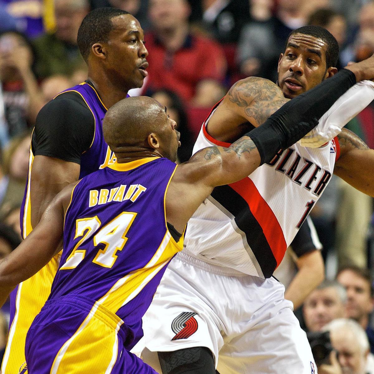L.A. Lakers Vs. Portland Trail Blazers: Postgame Grades