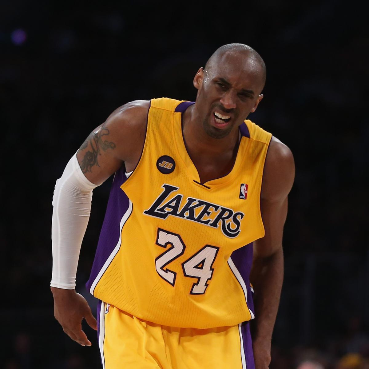 Lakers News: Kobe Bryant's Injury One Of The Saddest