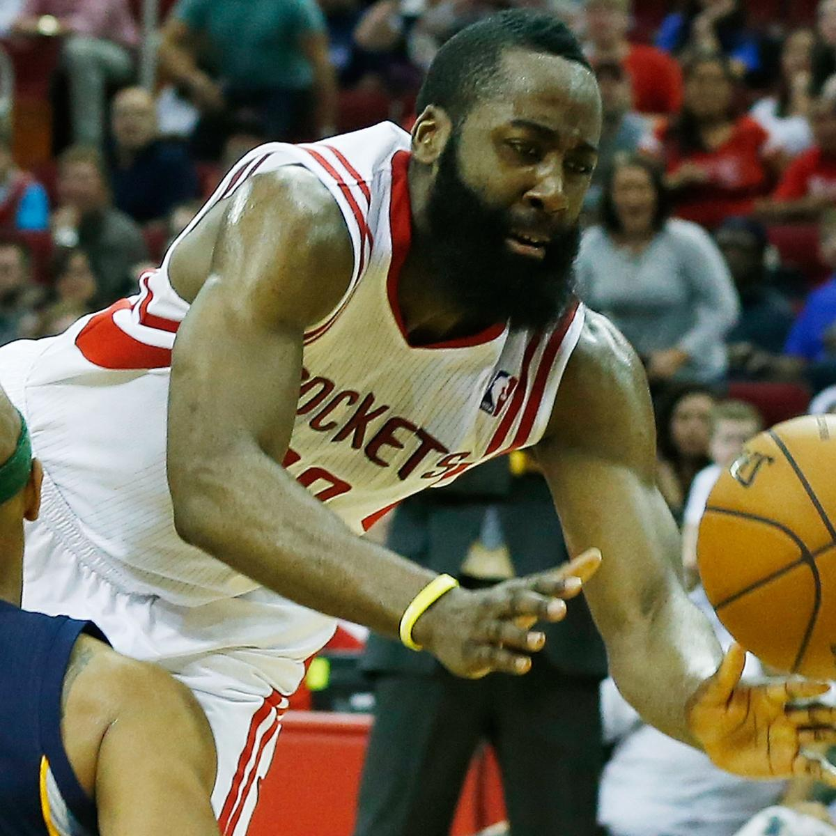 James Harden Injury Report: Building The Case For James Harden As The Best Shooting