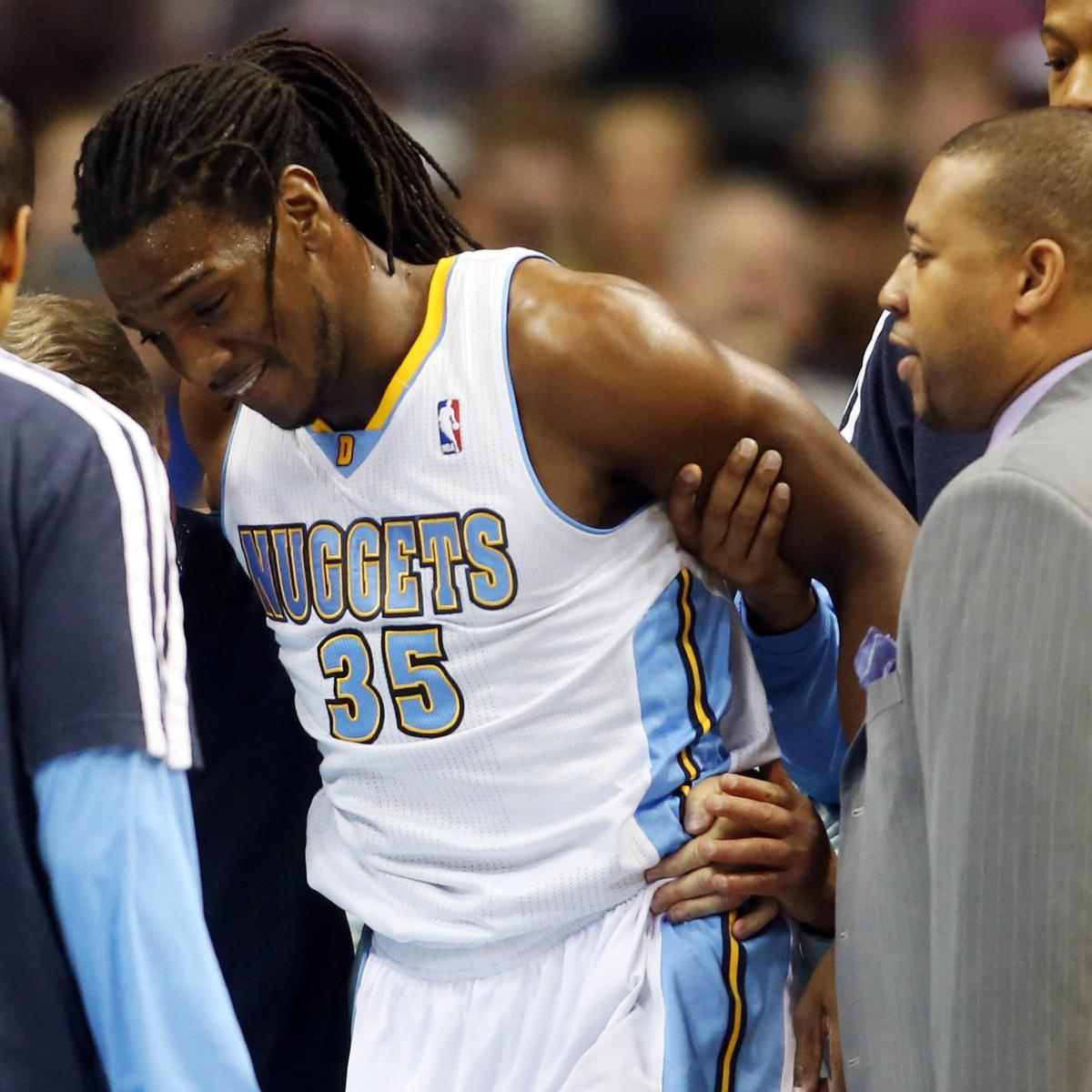 Nuggets Quarter Season Tickets: Kenneth Faried Injury: Denver Nuggets Need Healthy Forward