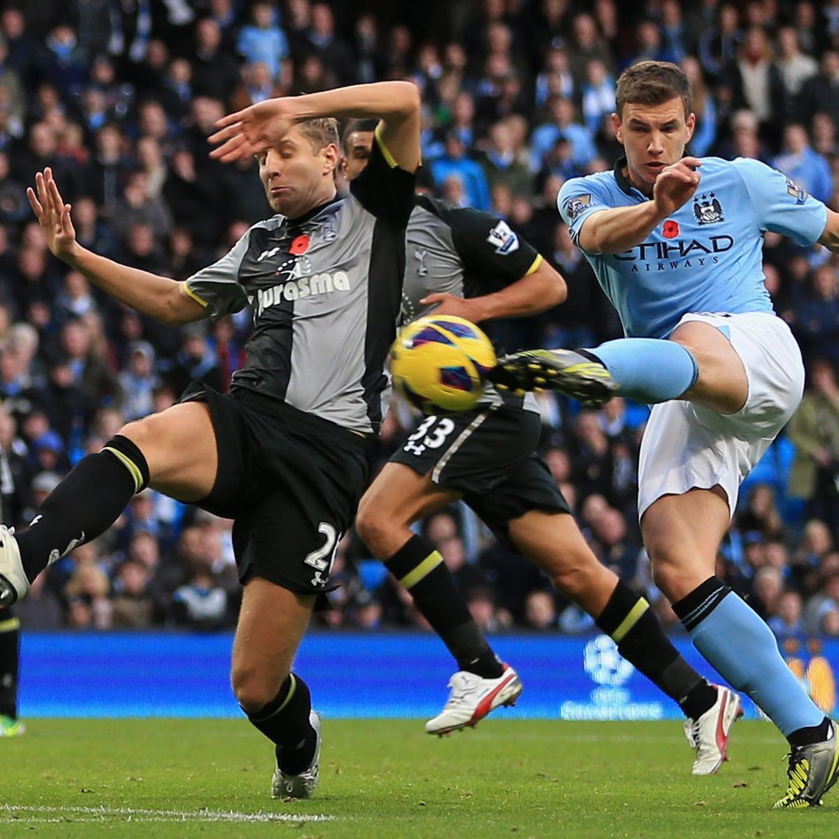 Tottenham Hotspur vs. Manchester City: Complete Premier ...