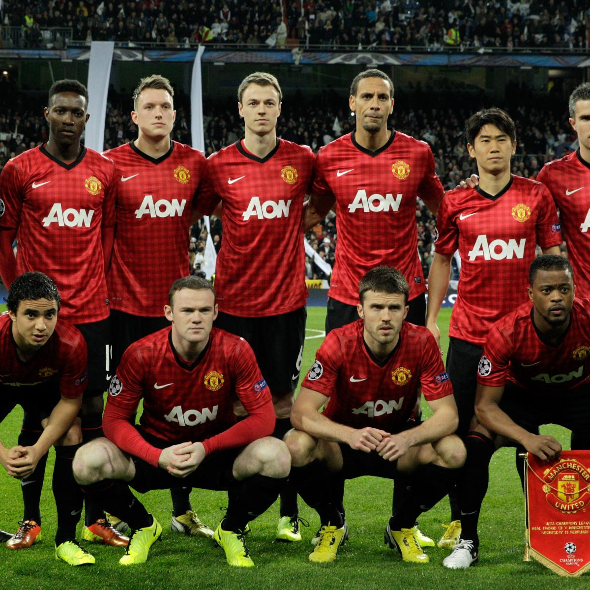 What Will Be Manchester United S Starting Xi For The 2013 14