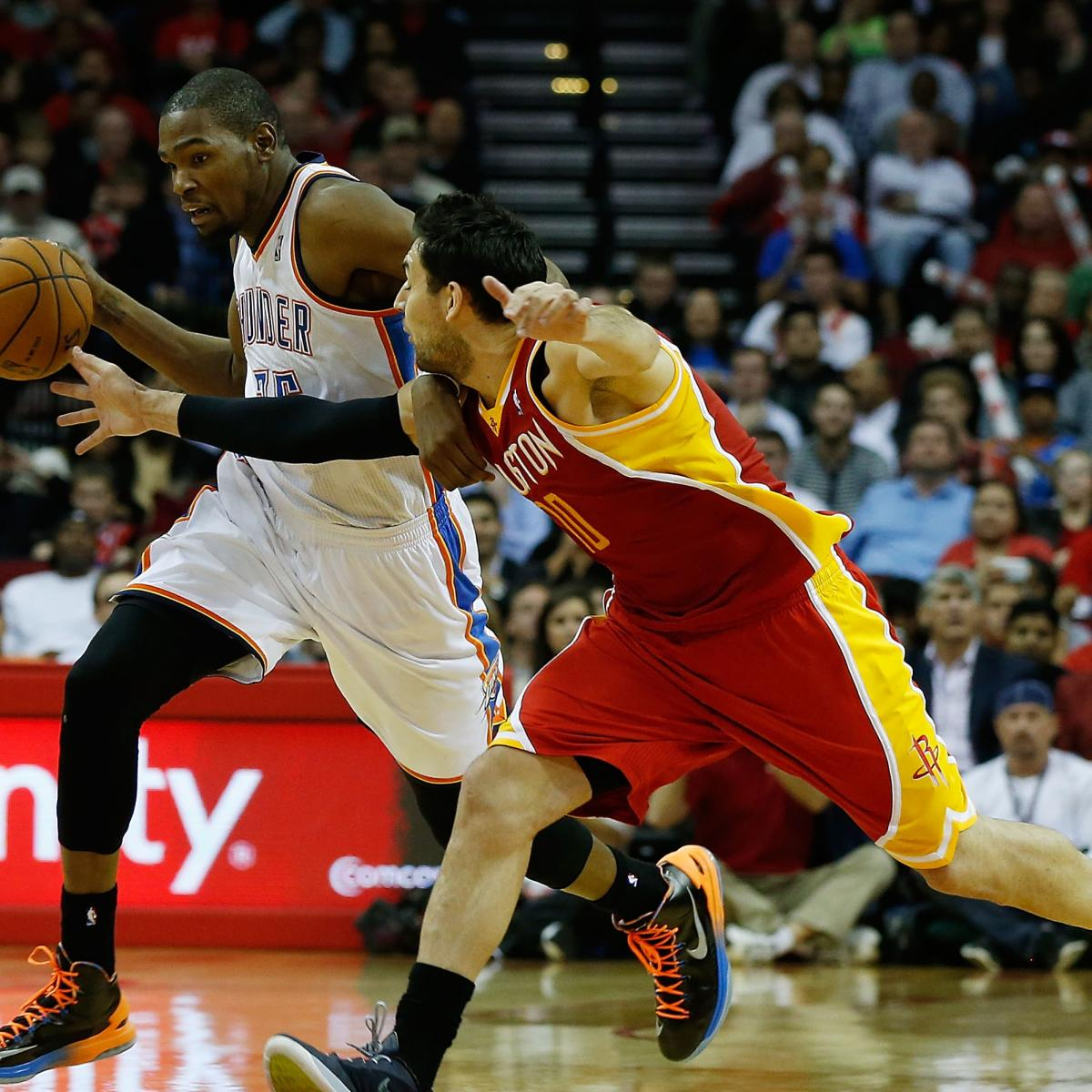 Houston Rockets Vs Denver Nuggets: 2013 NBA Playoff Brackets: First-Round Series That Will