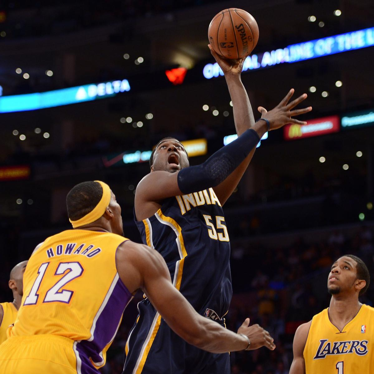 NBA Playoffs 2013: Pacers Vs. Hawks Eastern Conference