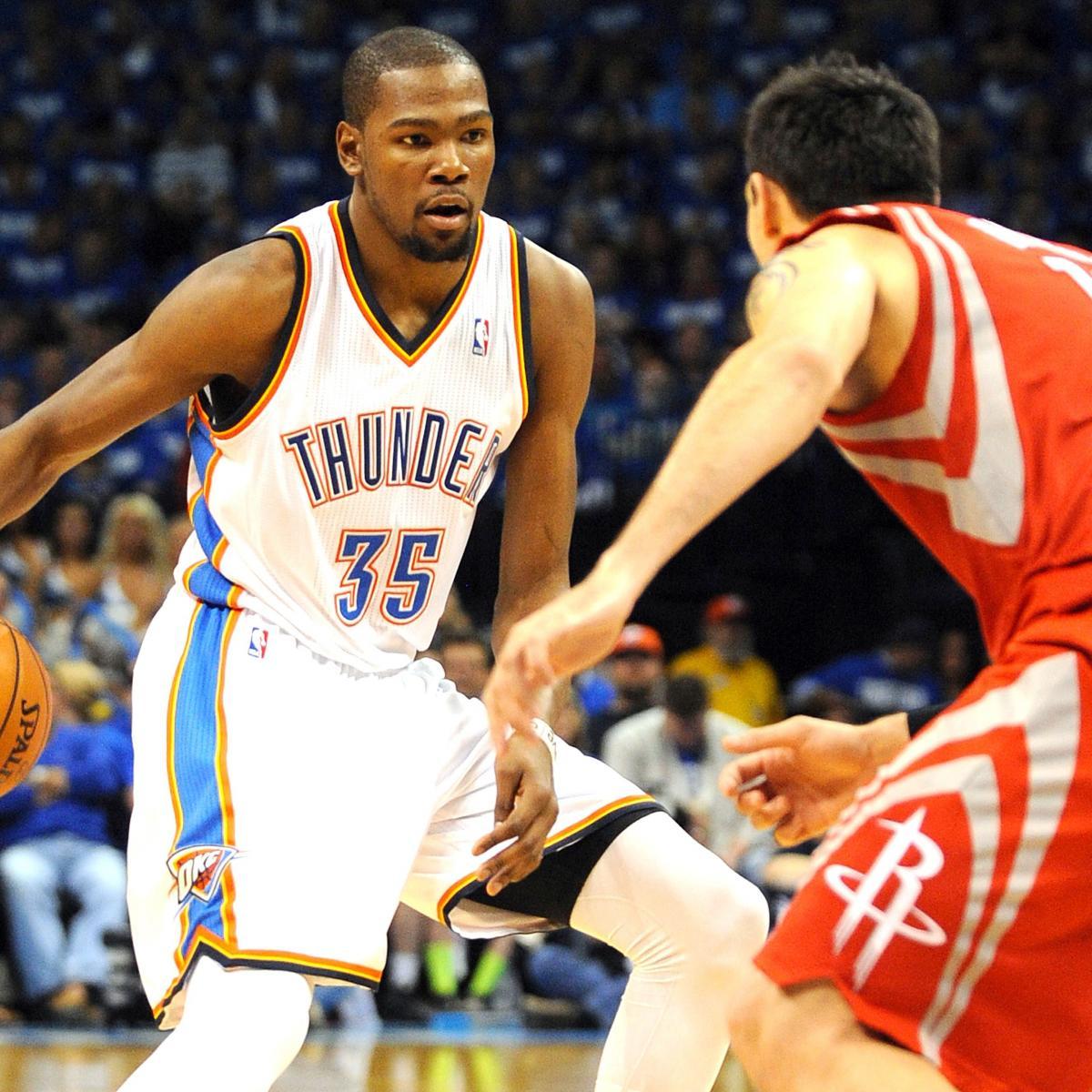 Houston Rockets Vs Oklahoma City Thunder: Houston Rockets Vs. OKC Thunder: Game 2 Preview, Schedule