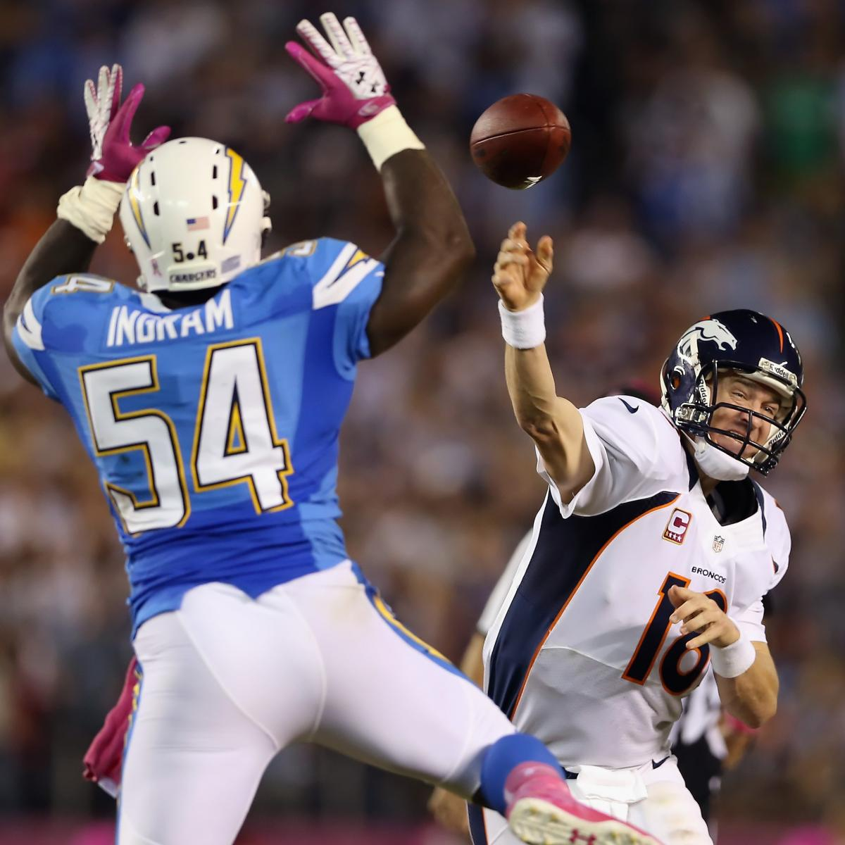 San Diego Chargers Depth Chart 2013: San Diego Chargers: Where Do The Bolts Take An OLB