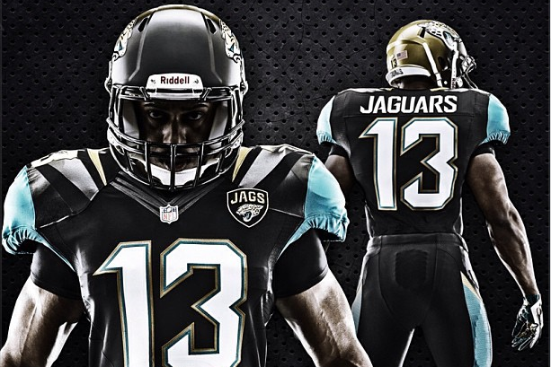 nfl lee men pro jaguar nike line collection jacksonville gold c jaguars d jersey marqise s elite black