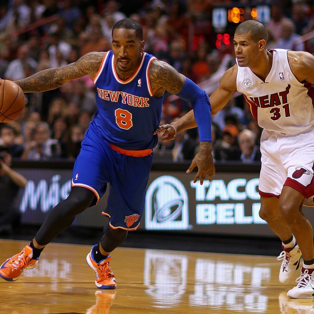 NBA Playoffs: Has J.R. Smith Earned An Eight-Figure Deal