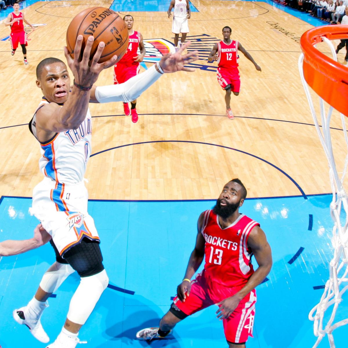 Houston Rockets Game Log: Houston Rockets Vs. OKC Thunder: Game 2 Score, Highlights
