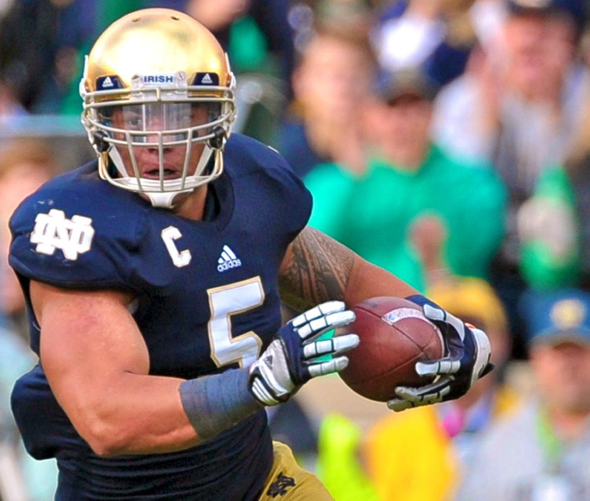 San Diego Chargers Draft: Manti Te'o Drafted By San Diego Chargers In 2nd Round