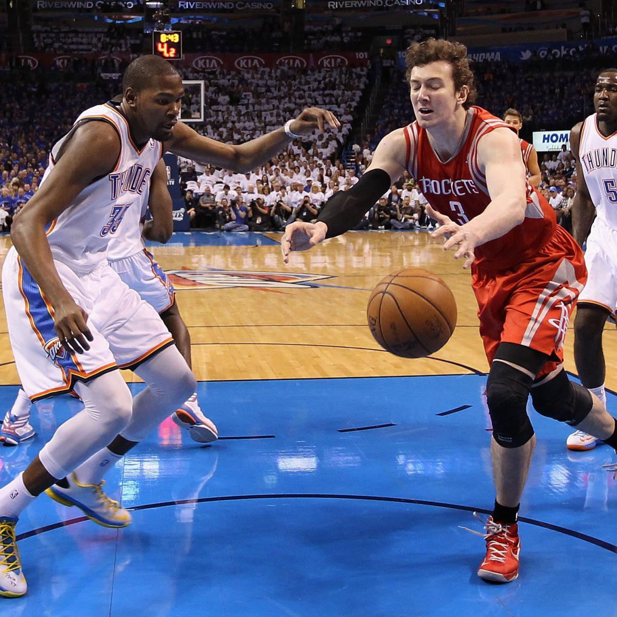 Houston Rockets Vs Oklahoma City Thunder: Houston Rockets Vs. OKC Thunder: Game 3 Preview, Schedule