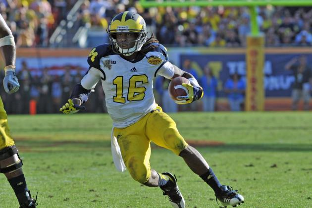 Image result for denard robinson michigan