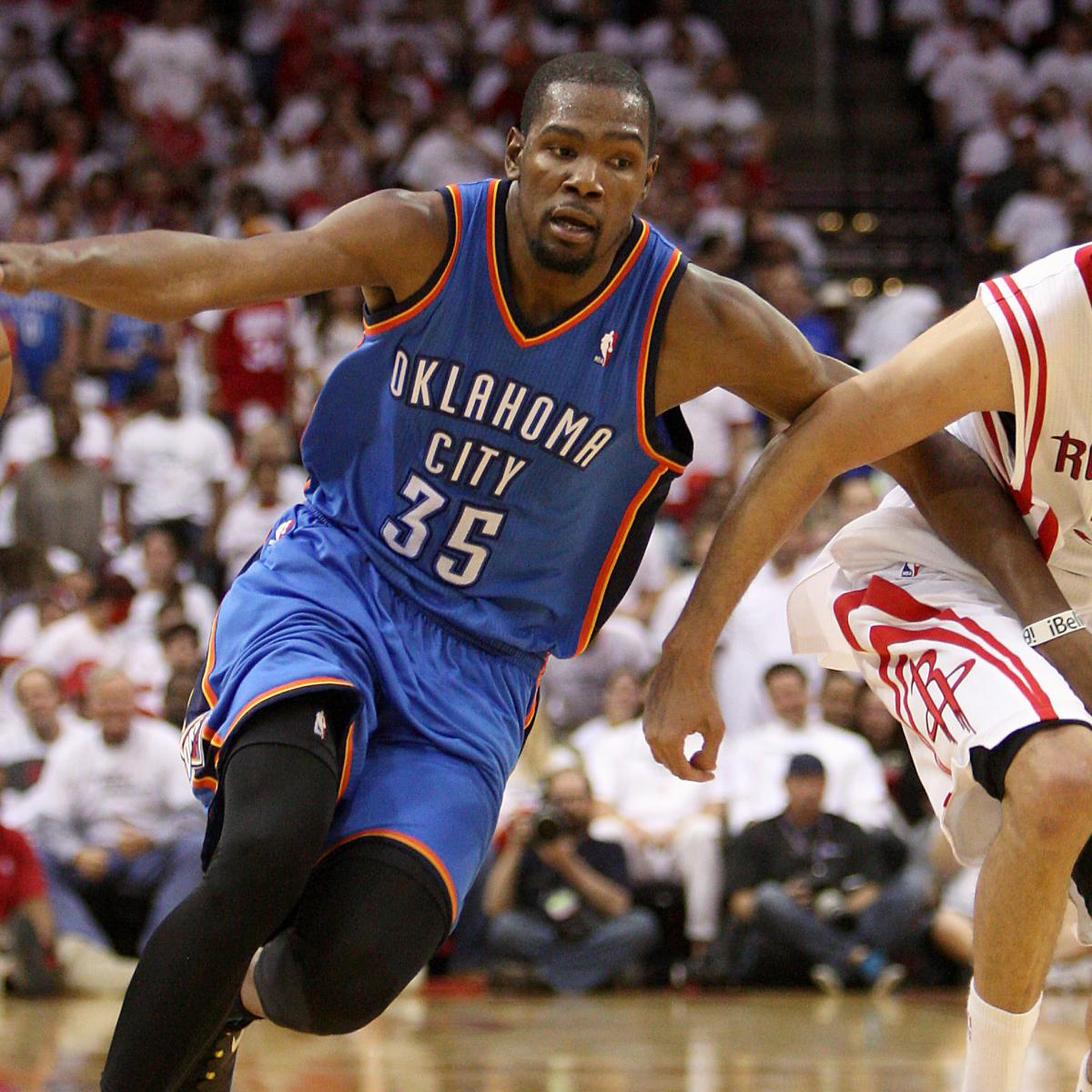 Houston Rockets Game Log: OKC Thunder Vs. Houston Rockets: Game 4 Score, Highlights