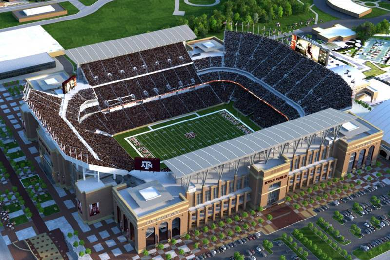 Texas A M Approves 450 Million Kyle Field Renovation
