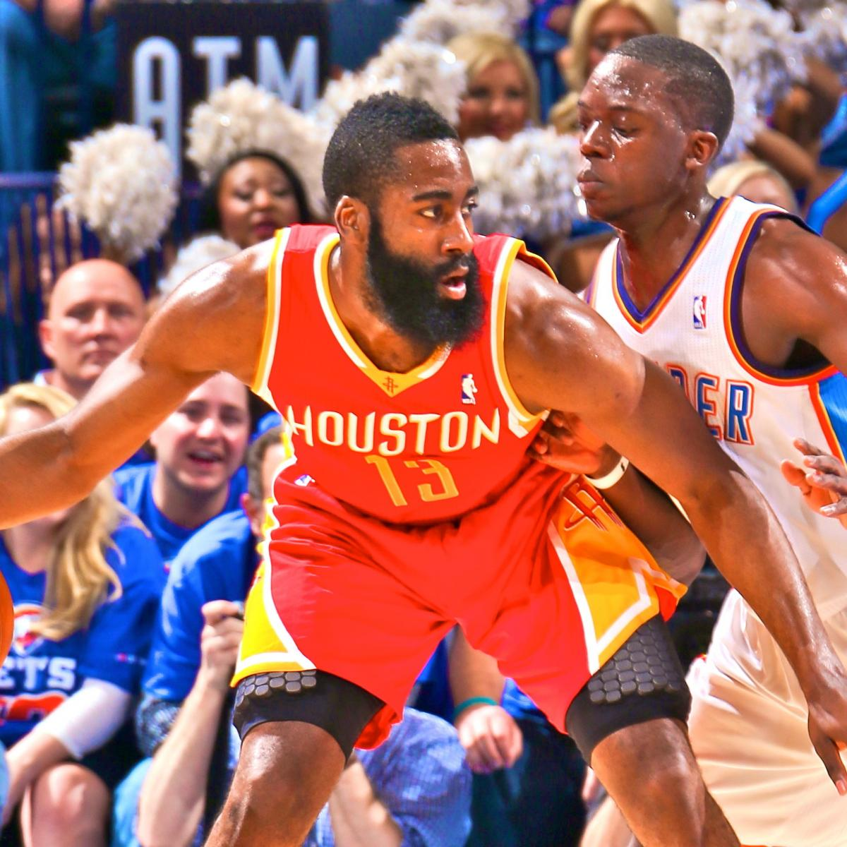 Houston Rockets Vs Okc: Houston Rockets Vs. Oklahoma City Thunder: Game 5 Score