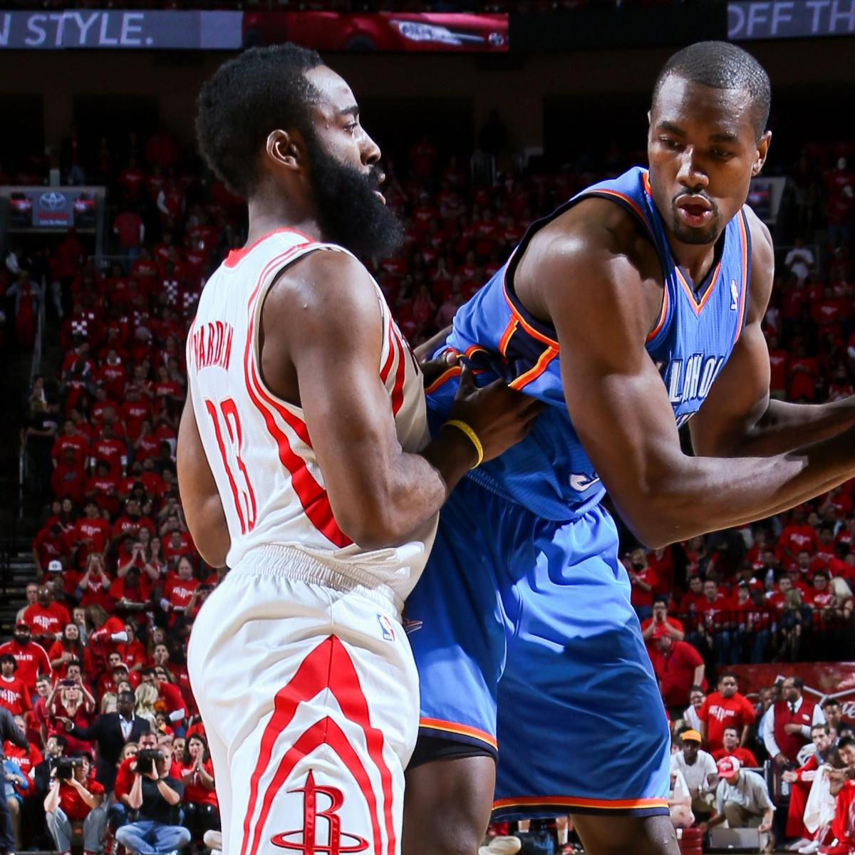 Thunder Vs. Rockets Game 6: Live Score, Highlights And