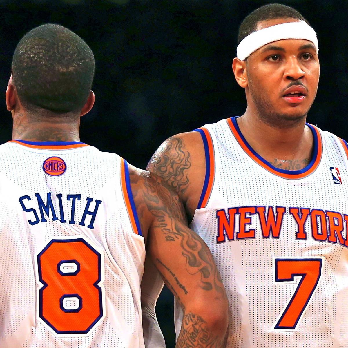 Carmelo Anthony, JR Smith Need a Wake-Up Call, and Woodson