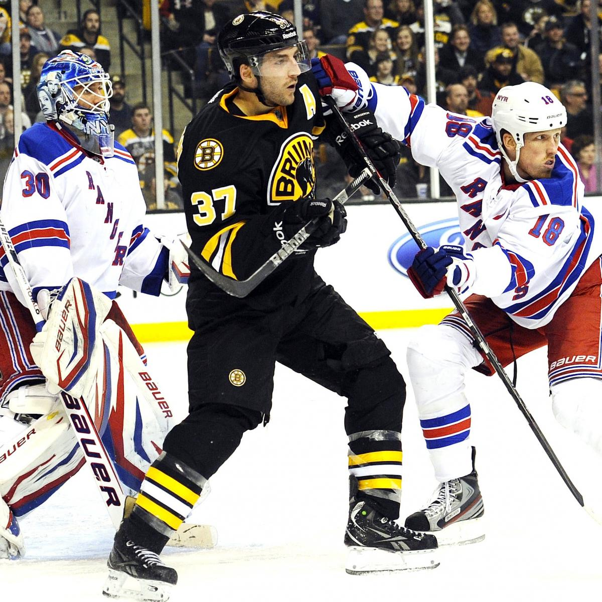 Boston Bruins Vs. New York Rangers: NHL Playoff Preview