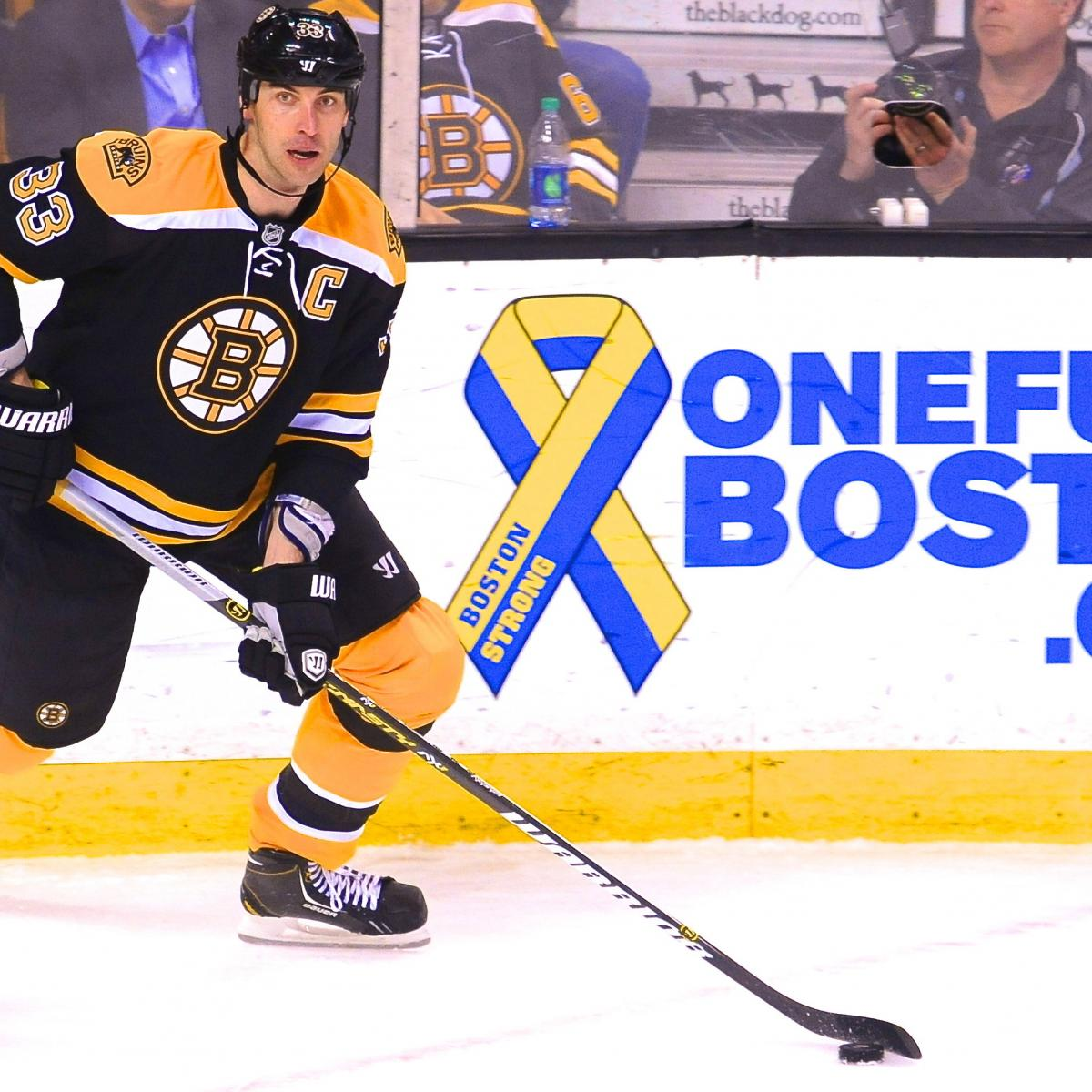 How Heavily Will Boston Bruins Lean On Zdeno Chara Against
