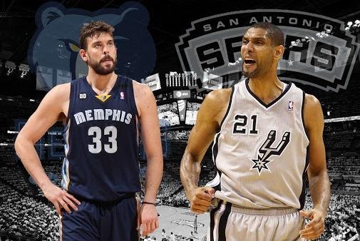Resultado de imagen para Memphis Grizzlies vs San Antonio Spurs