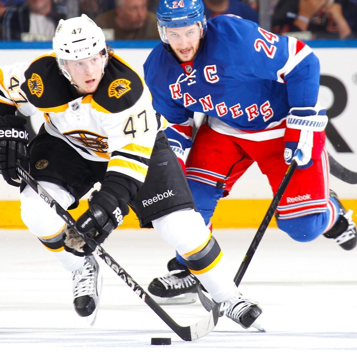 Bruins Vs. Rangers Game 3: Score, Twitter Reaction And