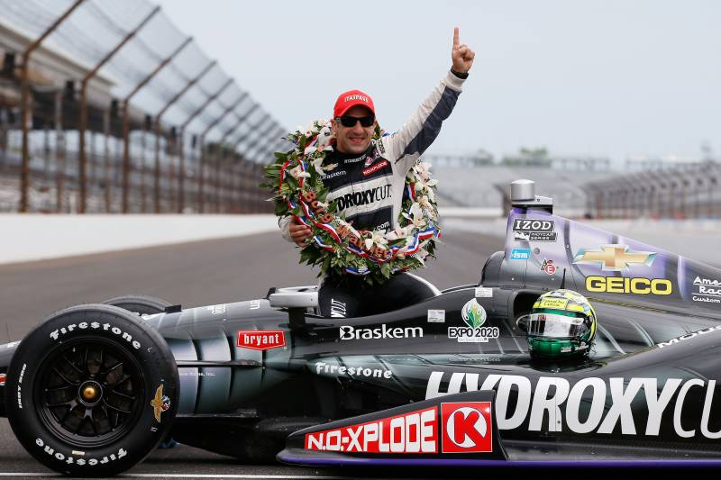amazing race indy car drivers