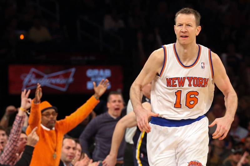 newest d8b2f adda4 New York Knicks Will Need a Revamped Steve Novak in 2014 ...