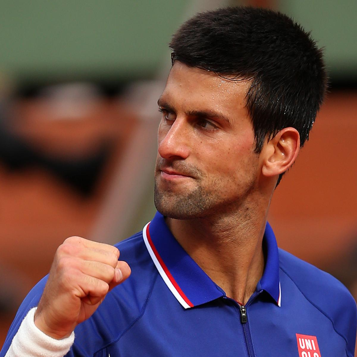 French Open 2013 Biggest Winners From Week 1 At Roland: Novak Djokovic Defeats Grigor Dimitrov To Advance To