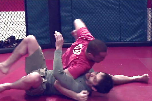 Firas Zahabi Teaches How to Execute the Butterfly Guard Sweep