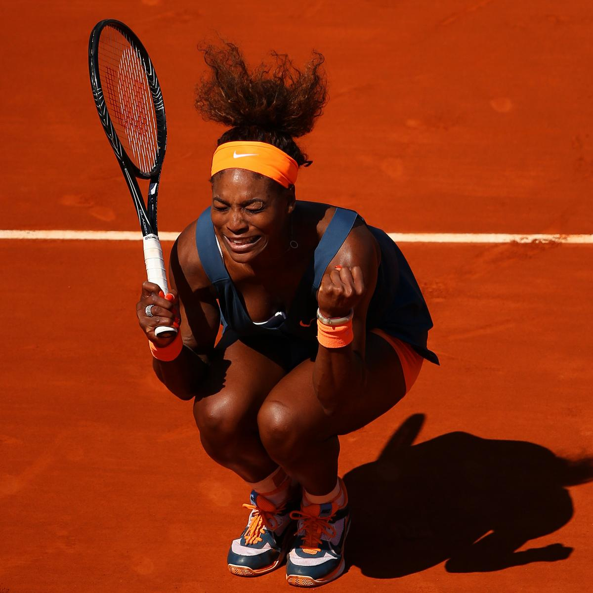 French Open 2013 Biggest Winners From Week 1 At Roland: 2013 French Open: Serena Williams Beats Svetlana