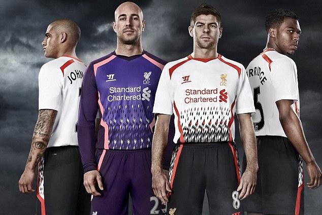 2b478599f Liverpool Reveal 2013-2014 Away Kit Design