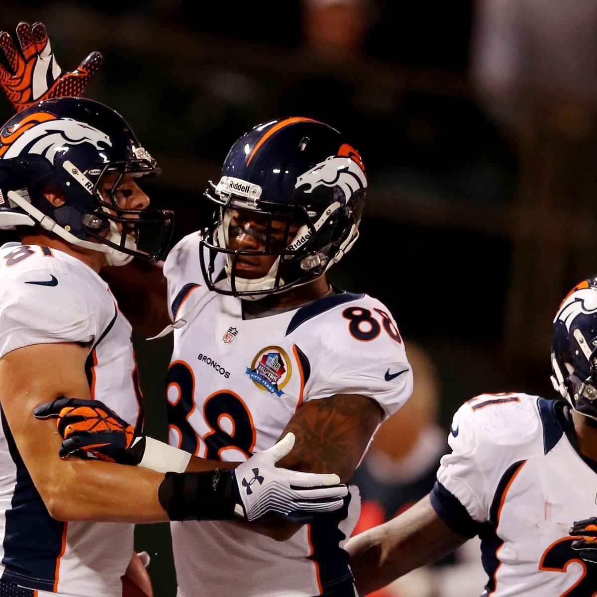 Denver Broncos Depth Chart: Broncos Wide Receiver Breakdown: Complete Position And
