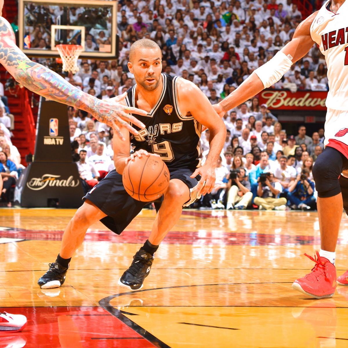 Spurs Vs. Heat Game 1 NBA Finals: Live Score, Highlights