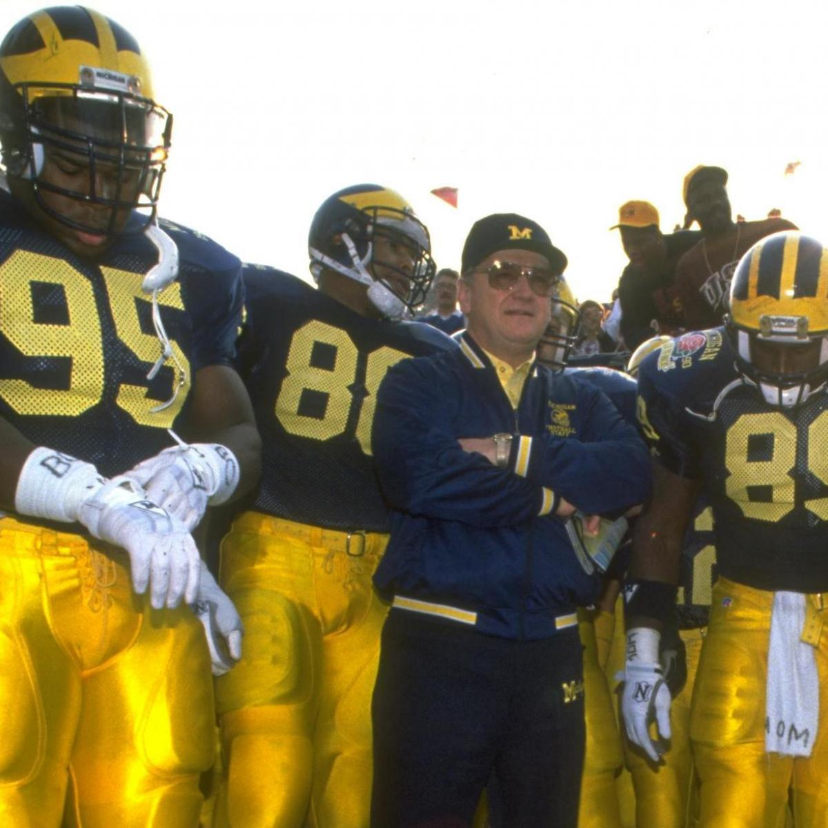 The Mellow Men Of Michigan Bo Schembechler S Gridiron