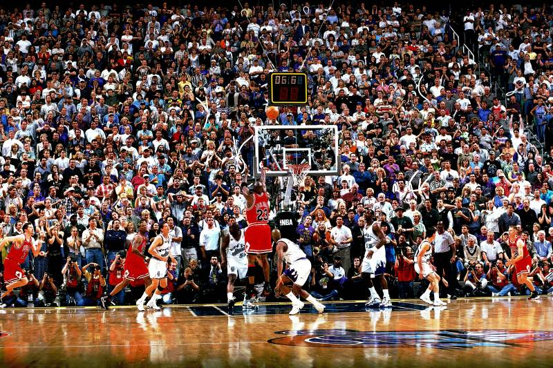 15th Anniversary of Michael Jordan s Game-Winning Shot Over Bryon Russell 7c8817523
