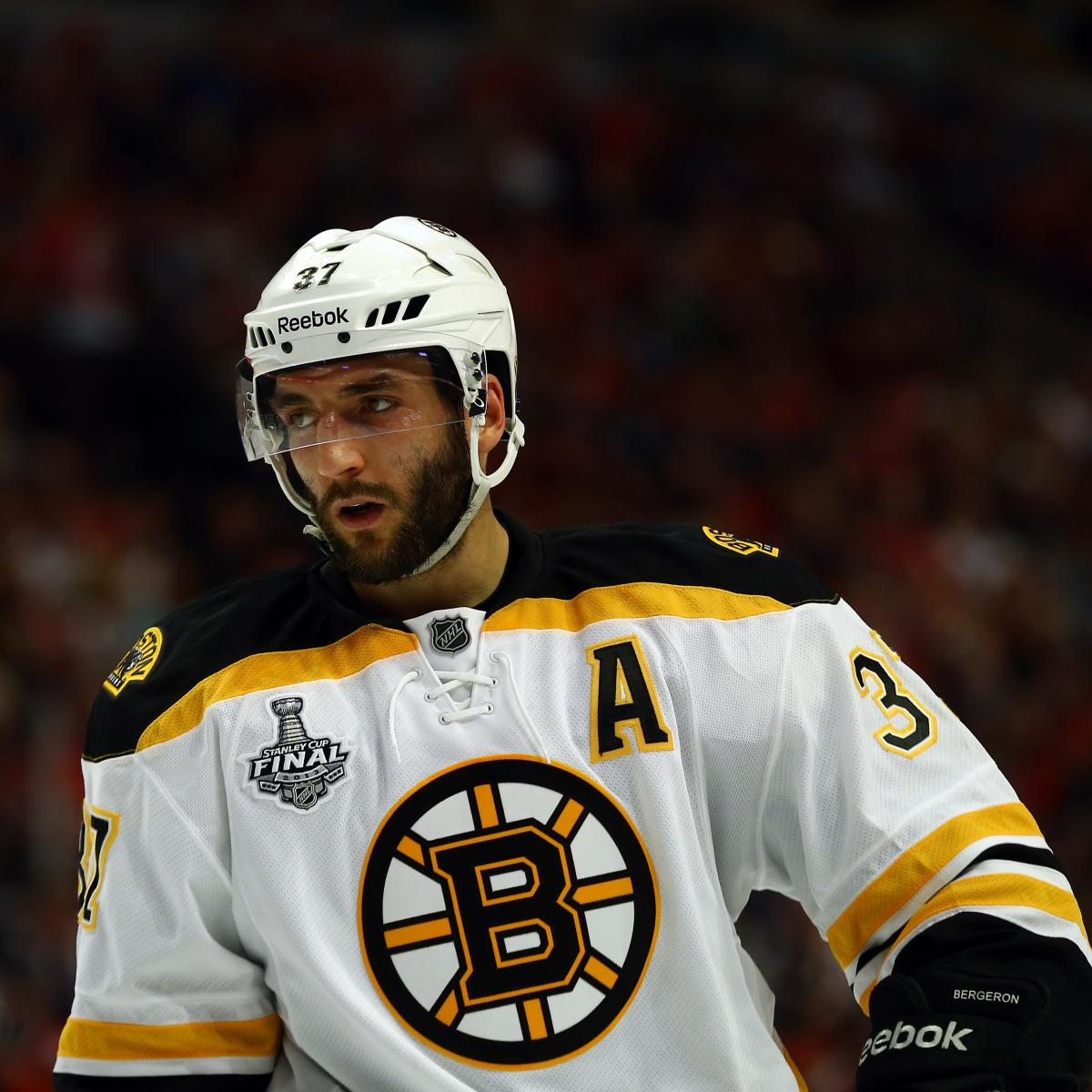 Ranking The Boston Bruins Stars' 2013 Playoff Performances