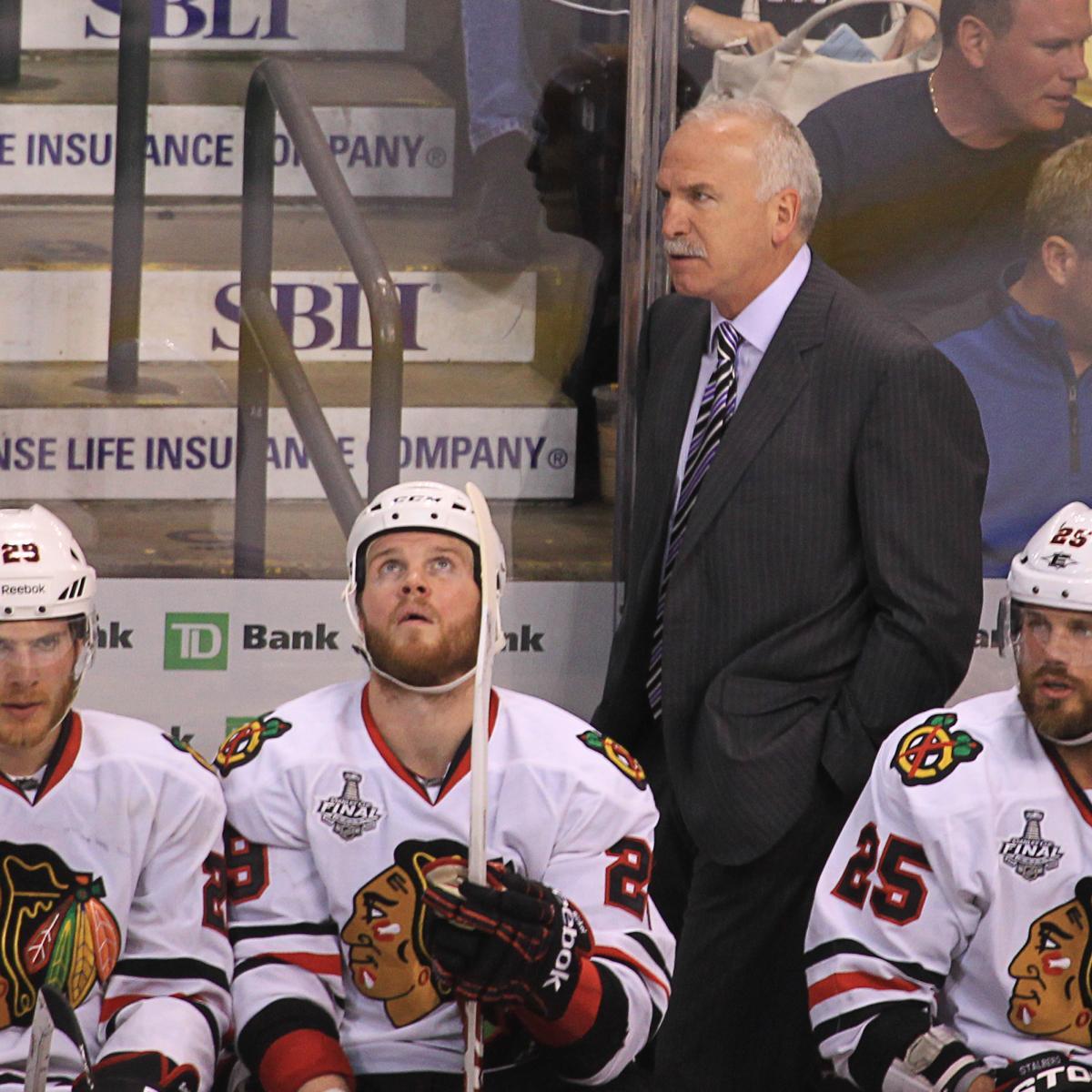 Chicago Blackhawks vs  Boston Bruins: Issues Joel