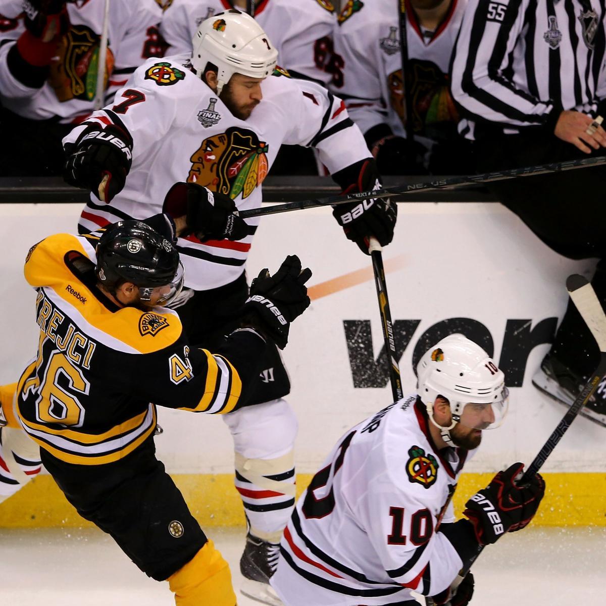 Boston Bruins-Chicago Blackhawks: Game 4 Preview, TV Info