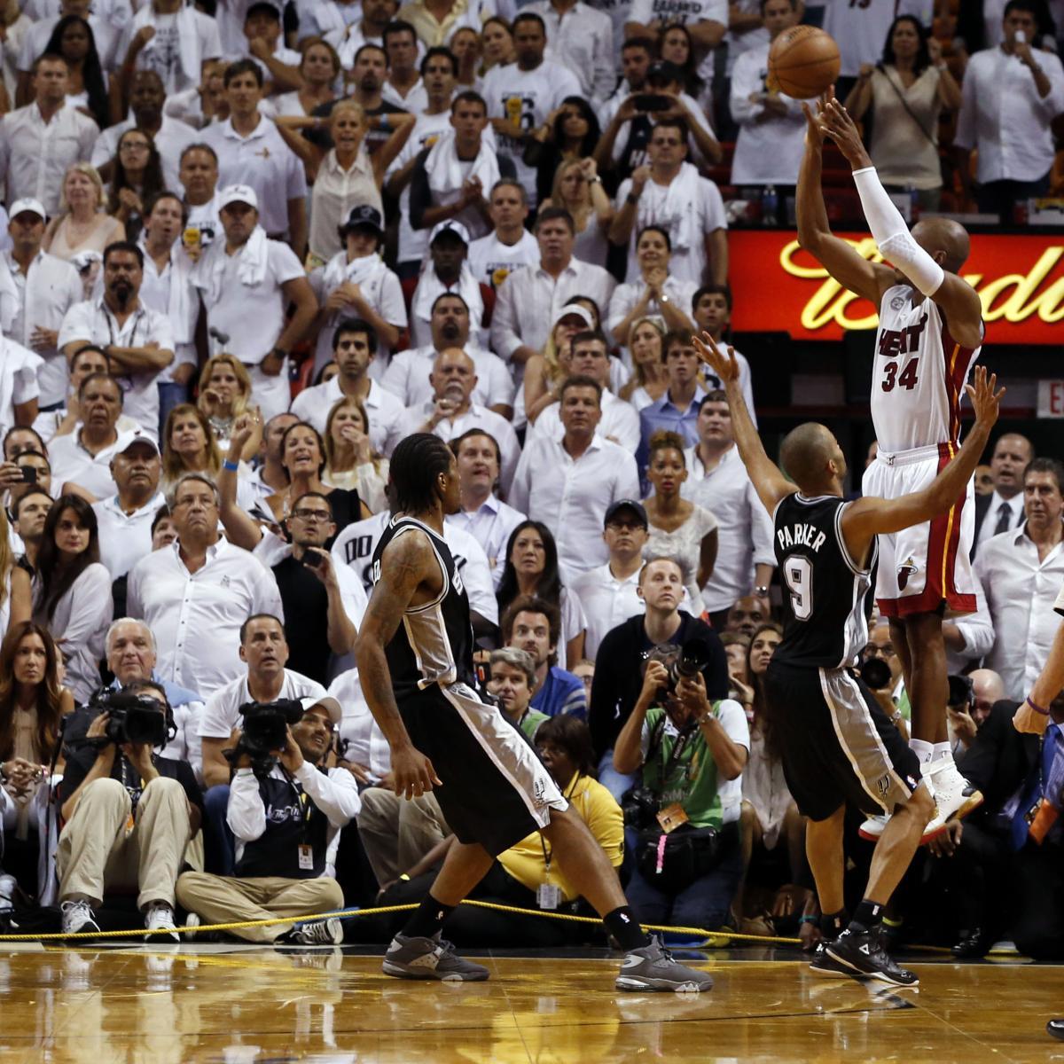 Heat Vs Spurs NBA Finals Game 6: Live Score, Highlights