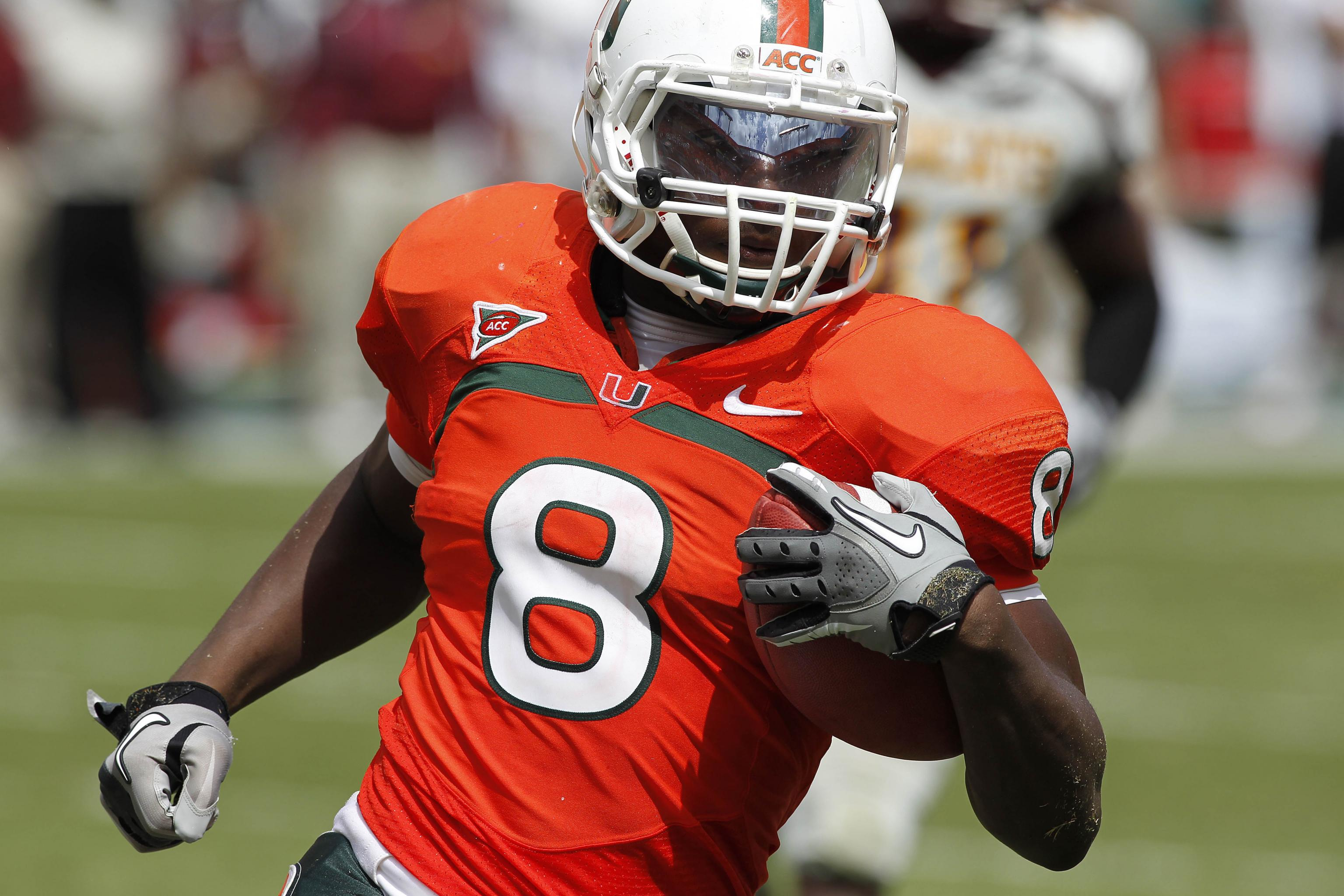best service 4a79e 64c6b Miami Football: Power Ranking the Best Running Backs in ...