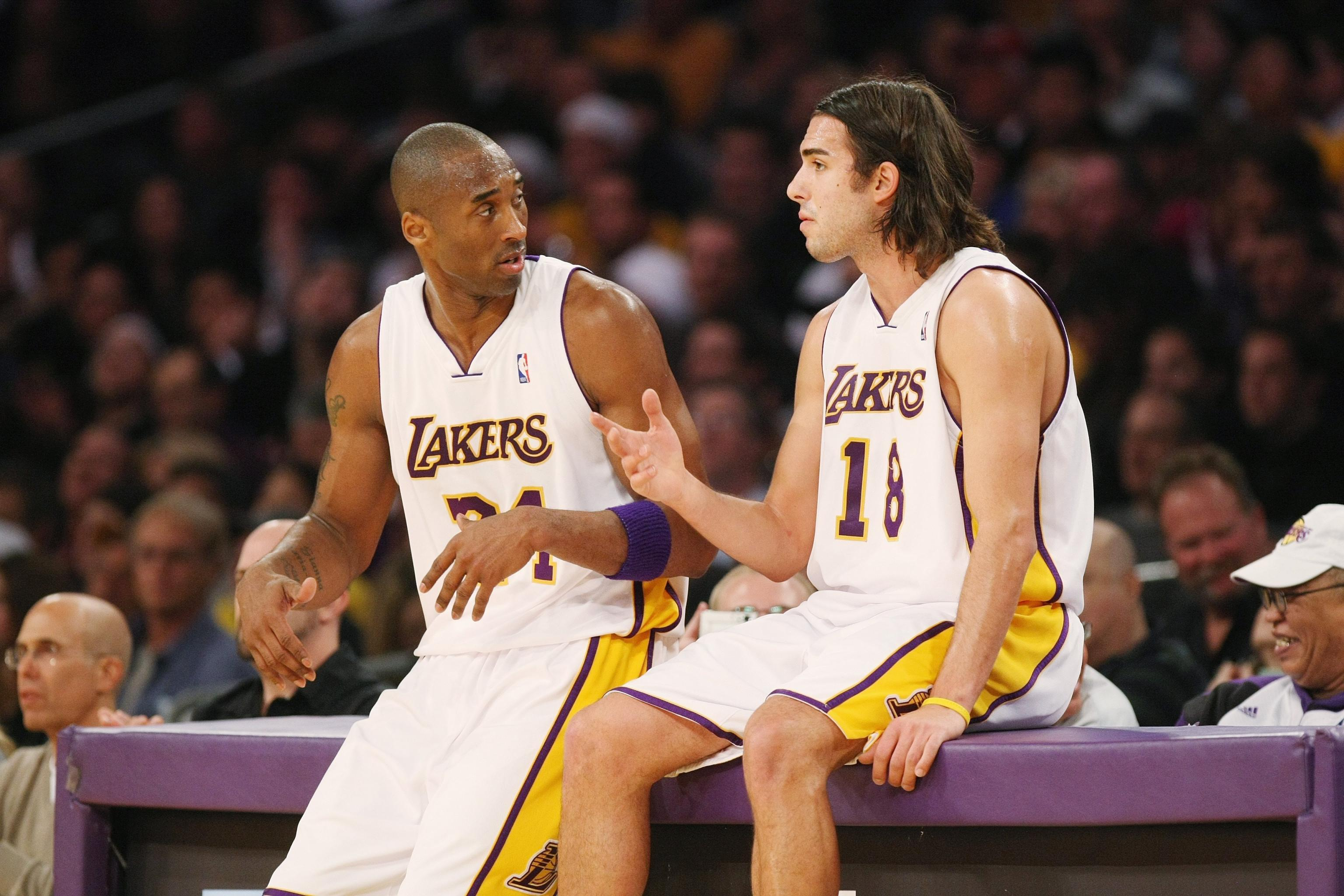 new styles 063cd c2e00 Lakers Rumors: Sasha Vujacic in Touch with Lakers, Wants to ...