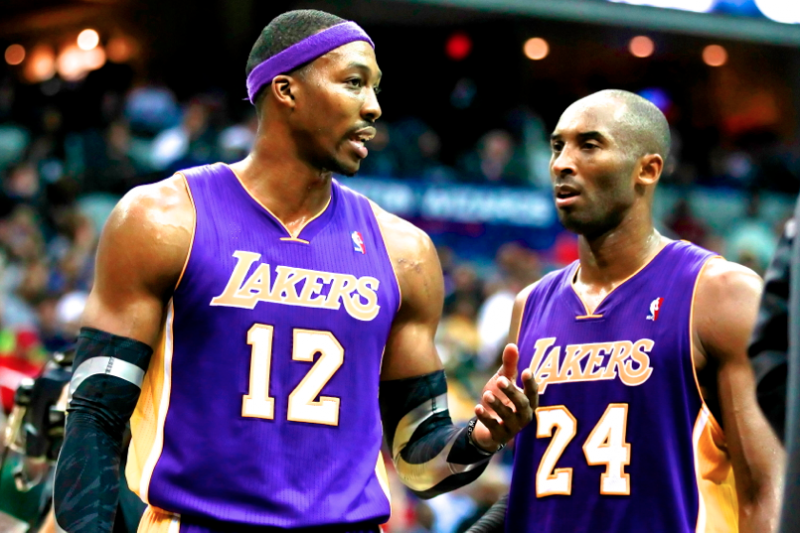 Kobe Bryant Unfollows Dwight Howard After Center Decides to