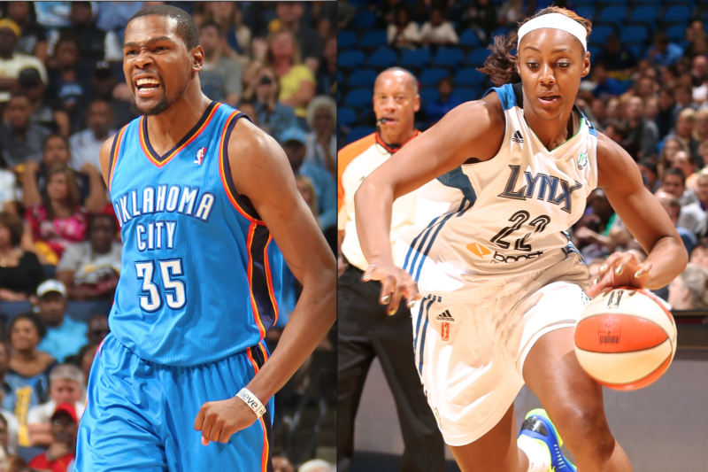 78ac4b5b4856 Kevin Durant Reportedly Engaged to WNBA Player Monica Wright ...