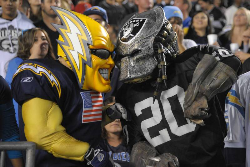 wholesale dealer aa4a4 62987 A Chargers Fan Guide to Hating the Raiders | Bleacher Report ...