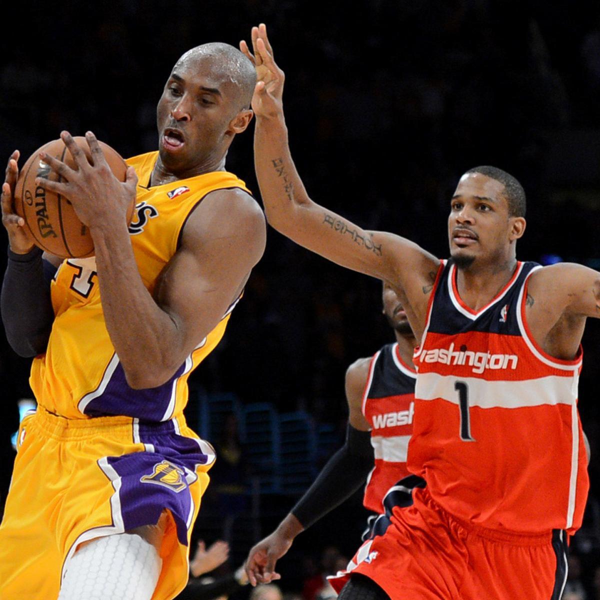 ce14bd922 Trevor Ariza Rocks Vintage Kobe Bryant Lakers Jersey While in Philadelphia