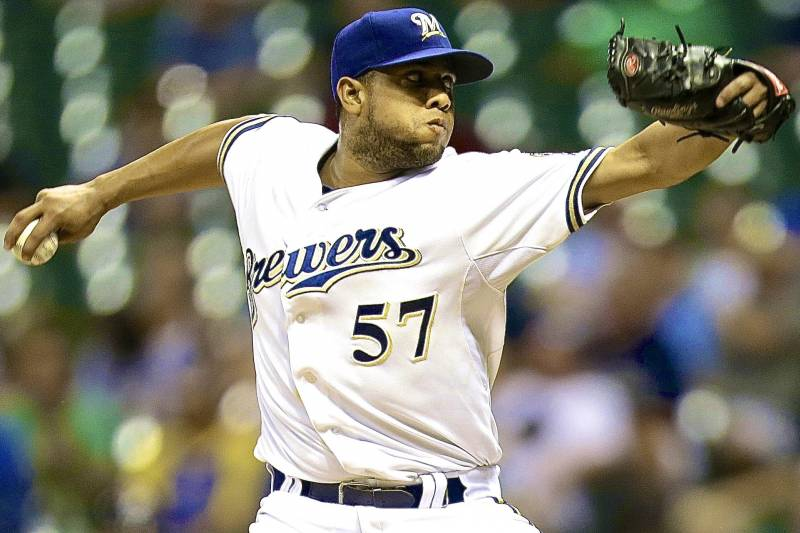 e27c7f4f8 Brewers Trade Francisco Rodriguez to Orioles in Exchange for Nick Delmonico