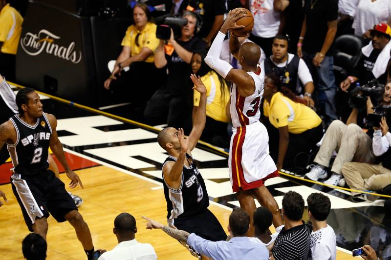 Image result for ray allen three pointer