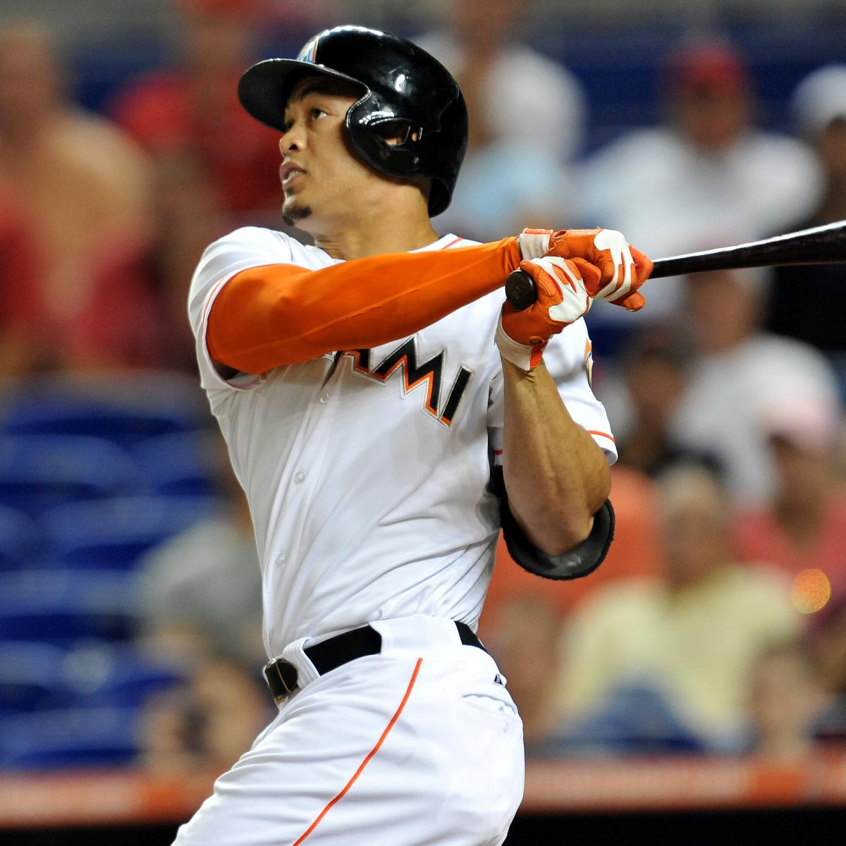 Giancarlo Stanton Of Miami Marlins Says He S Recovering: Cincinnati Reds: Why A Giancarlo Stanton Trade Will Never